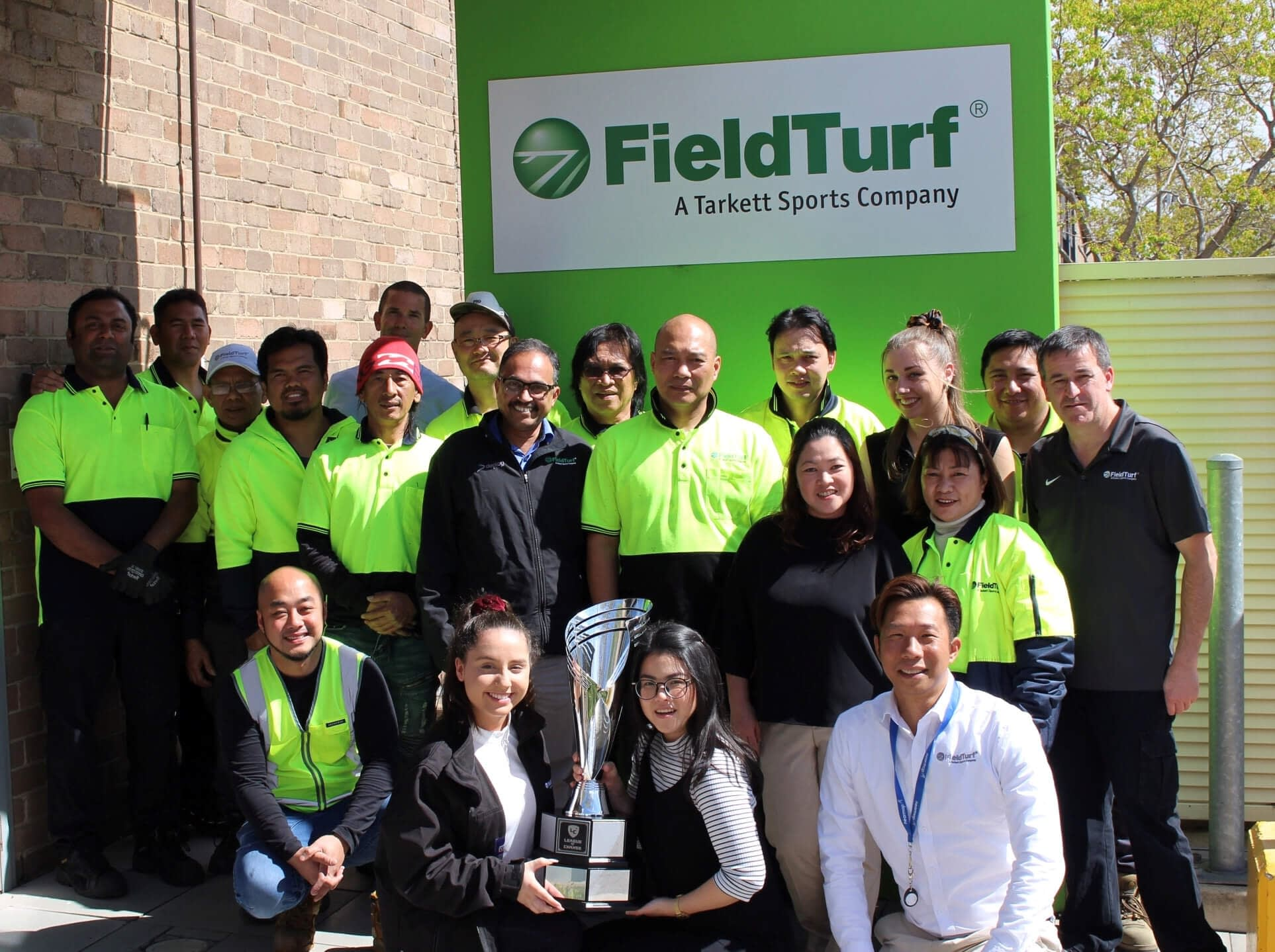About FieldTurf Australia