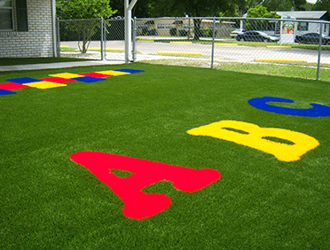 Artificial Grass for Childcare Centres