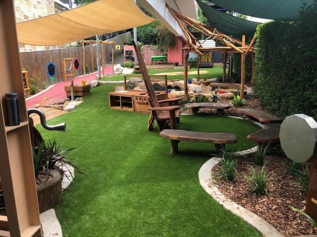 Glooloop creating the perfect playground here using our Summer Prestige 40mm!  Great work by Spencer his team!  #syntheticgrass #syntheticturf #astroturf #fieldturfaustralia #install #playground #Glooloop #FieldTurfAustralia
