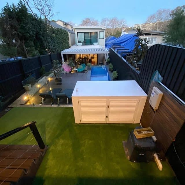 What a nice backyard! 💫  Sharing the amazing work of @stonedgegardens, with our Summer Prestige 40. - The before / after speaks for itself! 👌 - Well done guys ! 👊