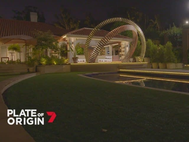 Big News Coming up ! 💫  Do you recognize this set ? 🤔  YES, it is @plateoforiginau on @channel7 ! 🌟🌟🌟  We are so proud to be part of this incredible food lovers adventure, supplying our English Meadow for this stunning venue. 💪  We can't wait to see the international teams bringing their best food creativity on the table! 🥘😋  #channel7 #plateoforiginau #englishmeadow #syntheticgrass  #fieldturfaustralia #foodlovers #foodcontest