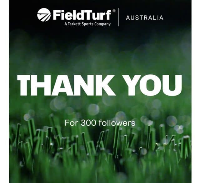 We would like to thank all of our Instagram followers for being a part of the #FieldTurfAustralia journey.  Thank you for your continued support through the years. Together, we will #ChangeTheGame!