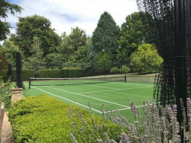 Once again, it's #FieldTurfAustralia Club 40 rising to the occasion in #Victoria, courtesy @tenniscourtsmelbourne. 📈 🎾  #Club40 #SyntheticGrassTennis #SyntheticGrassTennisCourt #SyntheticGrassTennisCourts #ArtificialGrassTennis #ArtificialGrassTennisCourts #VictoriaTennisCourt #VictoriaTennisCourts #RedHill #RedHillVictoria #RedHillVic #RedHillTennis #LawnTennis #tenniscourt  #tennislove  #tennislove #ArtificialTurf #SyntheticTurf #Australia